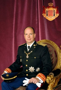 HSH Prince Albert, Alexandre, Louis, Pierre, Sovereign Prince of Monaco, Marquis of Baux, was born on 14 March 1958.