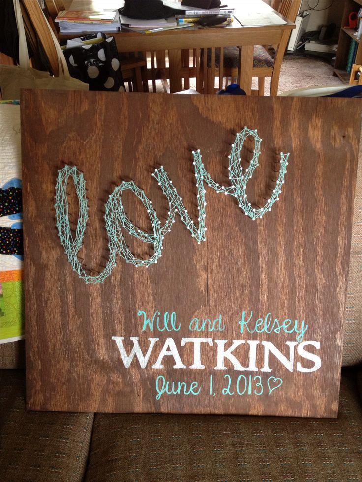 Wedding Gift String Art : ... Pixel, Wedding Gift, Diy Crafts, Gift Ideas, Gift Crafts, Crafts Diy