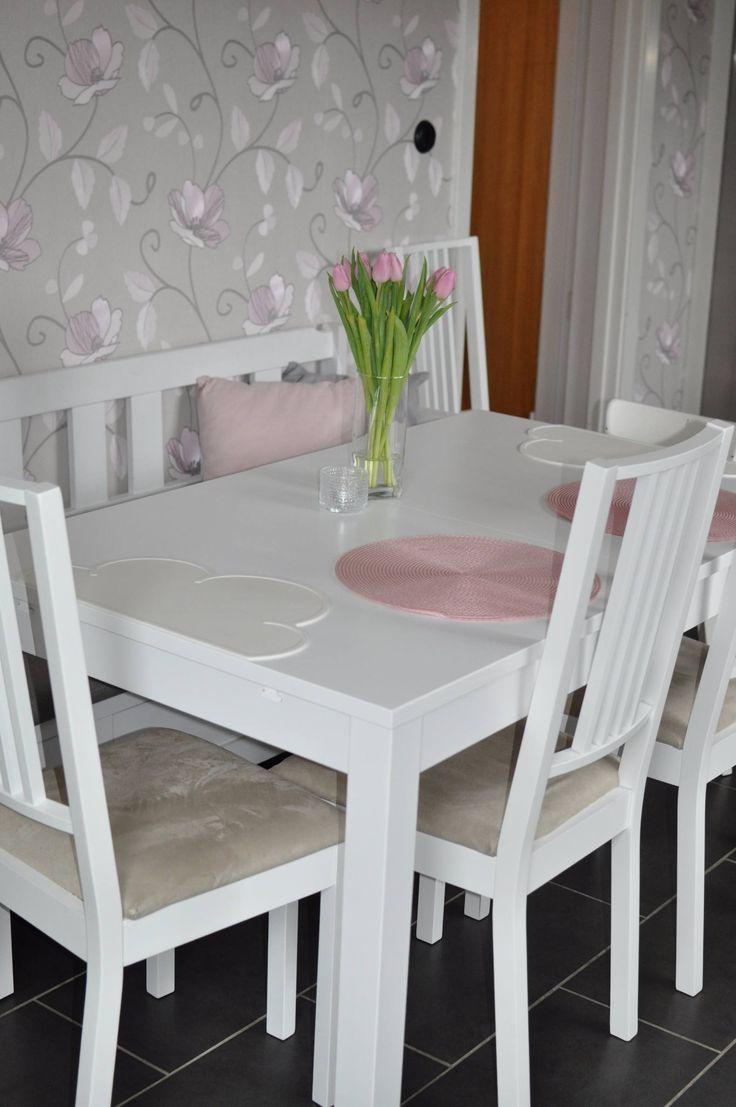 Nytt köksbord från Ikea Bjursta