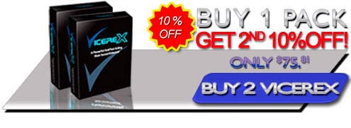 Buy Vicerex 2 Pack Get Second 10% Off The Best All Natural Male Enchancement Formula