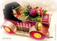 Ретро-автомобиль из конфет своими руками, мастер-класс http://hobbymo.ru/index.php?module=mk&parameter=some-content&content=737