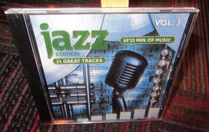 THE JAZZ STATION VOLUME 3 MUSIC CD, 21 GREAT JAZZ MUSIC TRACK BY FAVORITES, GUC