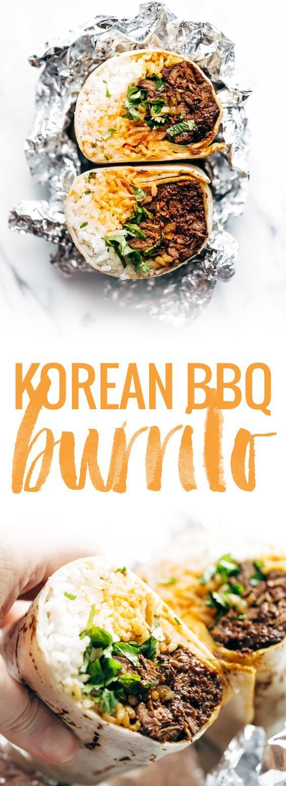 korean bbq bangkok burrito | Food And Cake Recipes