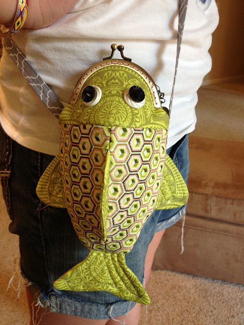 Happy fish frame purse | Flickr - Photo Sharing!