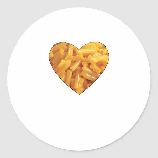 I Love Mac And Cheese Tshirt Classic Round Sticker Ad Sponsored Tshirt Classic St Business Cards Creative Templates Business Cards Creative Love Stickers