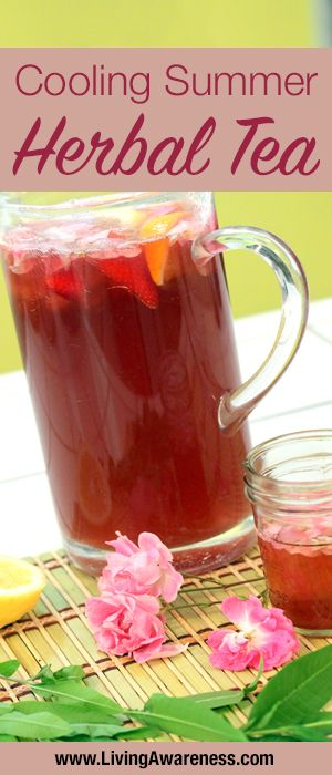What is your go-to cooling summer drink? Check out this delicious, refreshing tea! http://livingawareness.com/cooling-summer-herbal-tea/