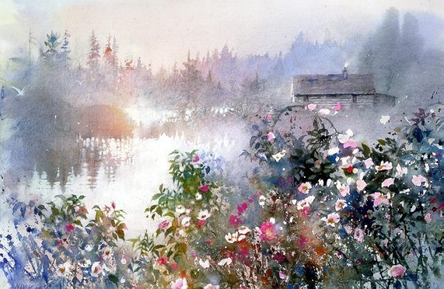 Another selection of watercolour paintings, mostly from well-known artists. A variety of different styles with something for everyone (I ho...