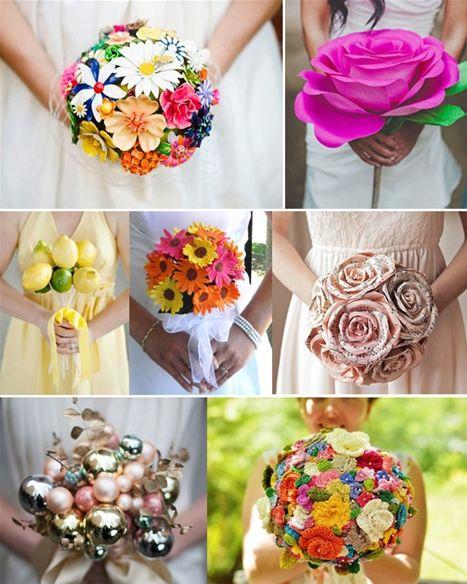 22 kreative og smukke brudebuketter