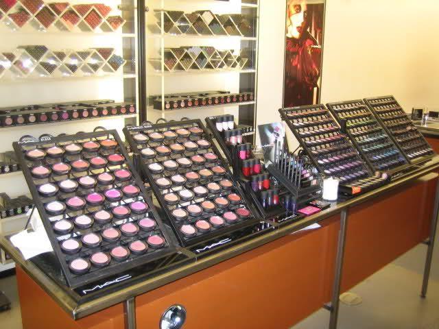mac makeup display - Google Search