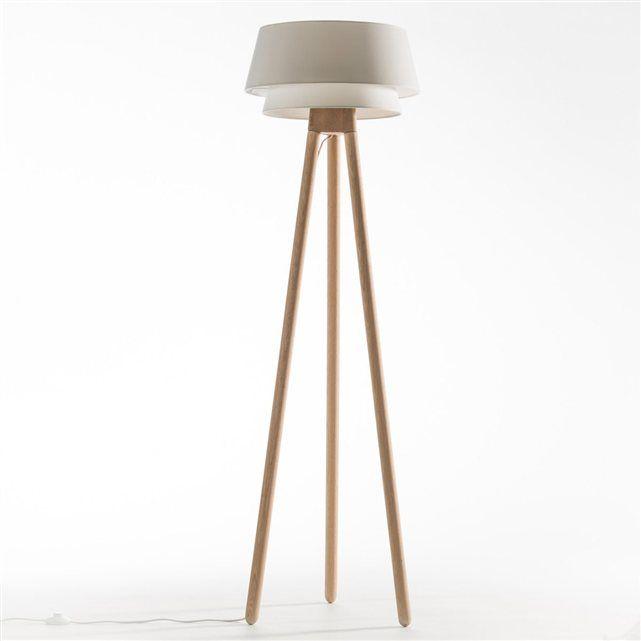 Finest pied de lampadaire epilogon ampm with lampe sur - Lampe papier de riz ...