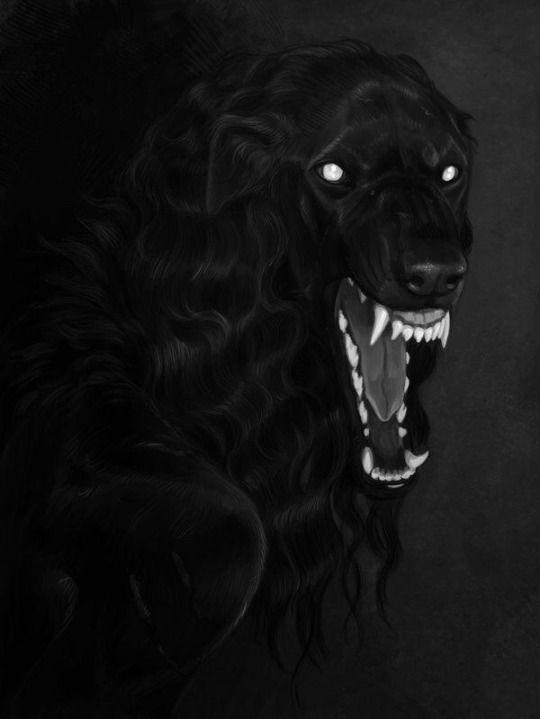 Let Me Tear You Apart You Deserve It | Черные собаки ...