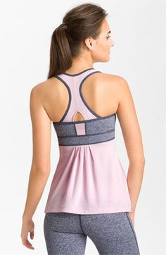 Zella 'Babydoll - Mélange' Tank available at #Nordstrom