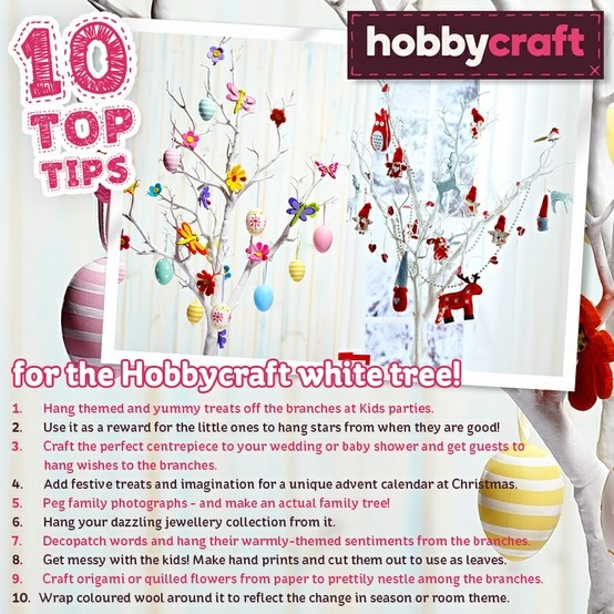 63 best hobbycraft twig tree images on pinterest twig tree 10 top tips for the hobbycraft white tree hobbycraft tabledecoration tree centrepiece negle Choice Image