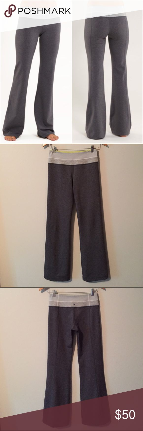 Lululemon Groove Pant Lululemon Groove Pants, size 4, excellent condition with no flaws(meaning no piling/rips/holes/seam damage/stains/etc). Bundle to save 10% off ❤ lululemon athletica Pants