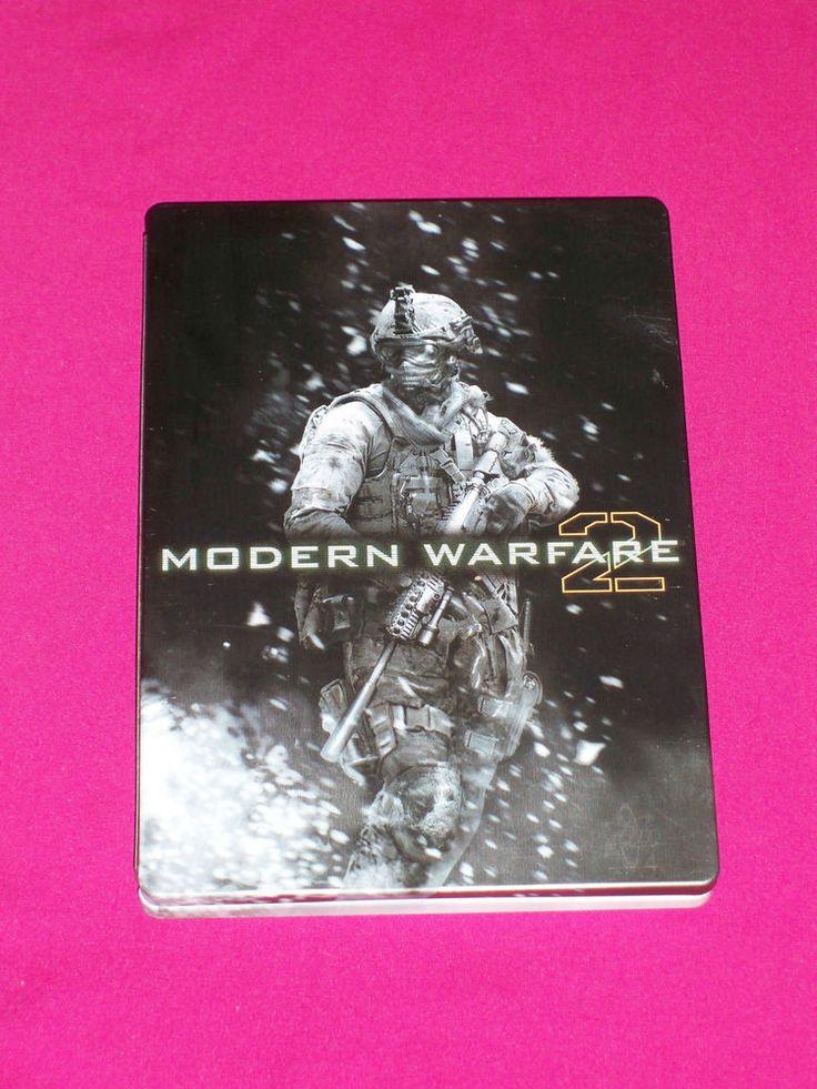 Call of Duty Modern Warfare 2, Xbox 360 Game COD COMPLETE Tin Steel Case ~ 2009 | eBay