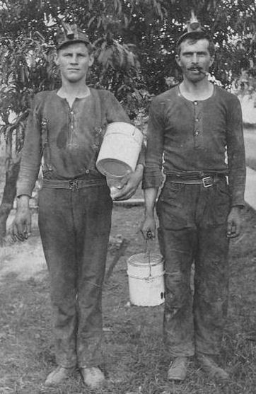 Kentucky Coal Miners....1902. My great grandfather died in this year, in Breathitt County, KY. It was a very violent time, full of crime and poverty. I don't even have a photo of him.