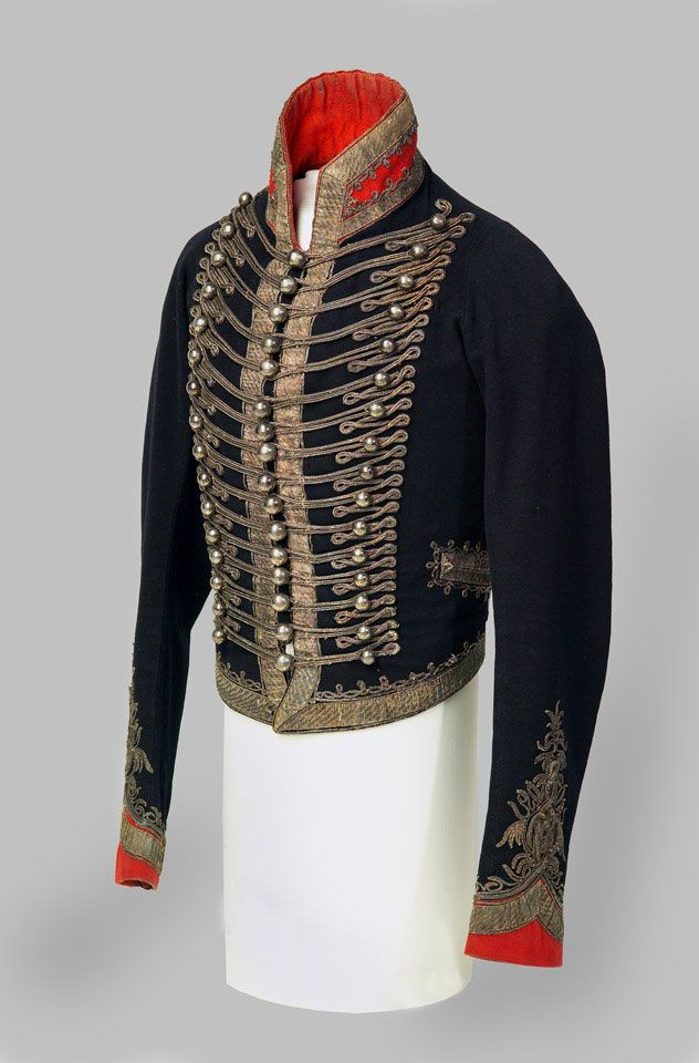 Officer's full dress jacket, 16th (or Queen's) Light Dragoons, 1814 (c) | Online Collection | National Army Museum, London