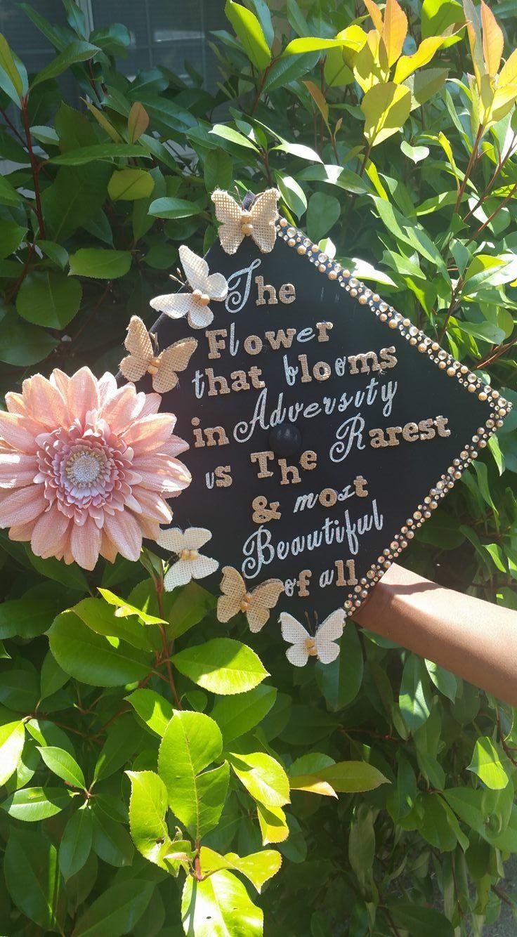 My graduation cap! Quote from Disney movie Mulan. Nurse Grad 2016