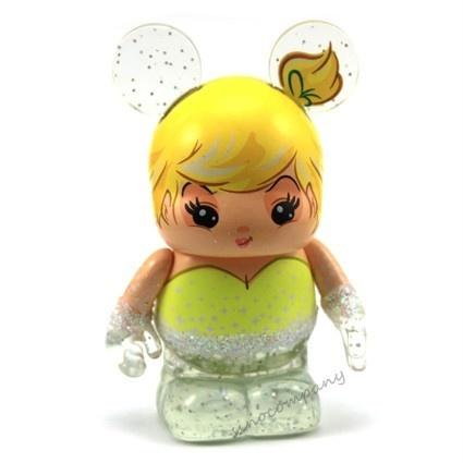 "Disney Vinylmation 3"" 25th Anniversary Light Up Tinkerbell Figure - :D"