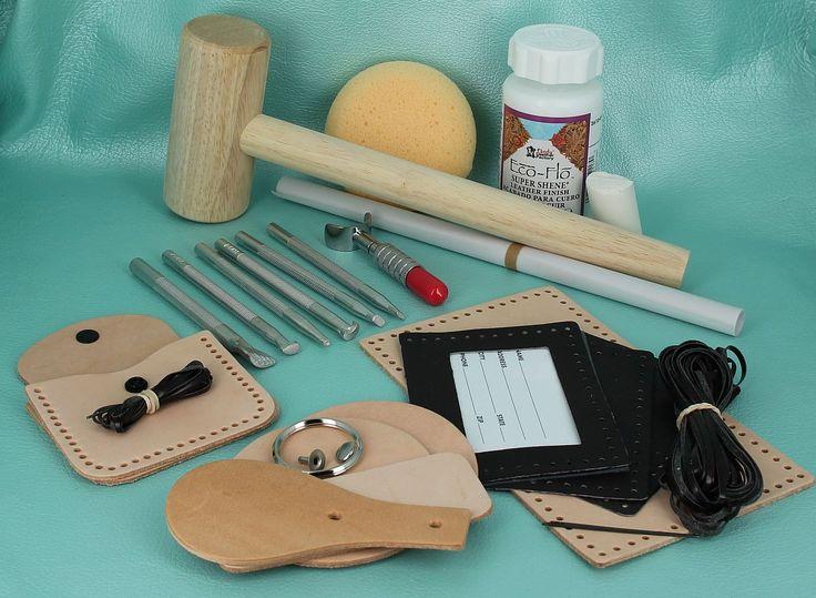 kit demarrage cuir maroquinerie