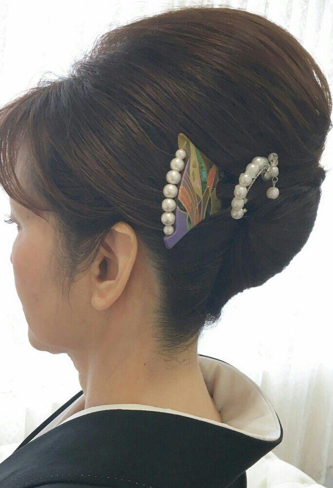 留袖 髪型 おしゃれまとめの人気アイデア Pinterest R M 留袖
