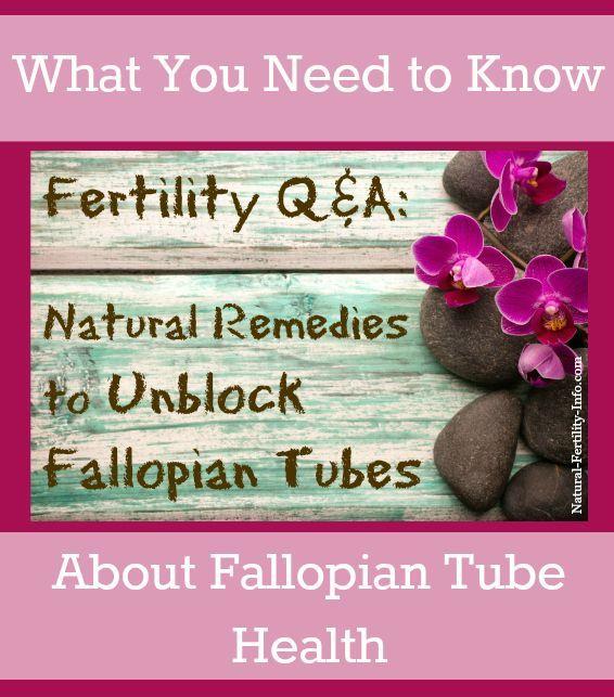 Natural Ways To Clear Fallopian Tubes