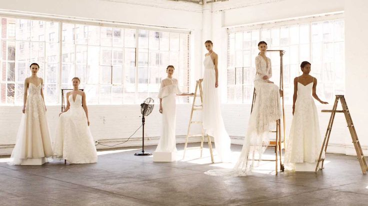 The 10 Biggest Bridal Trends for Spring 2017. It's getting racy up in those wedding aisles...