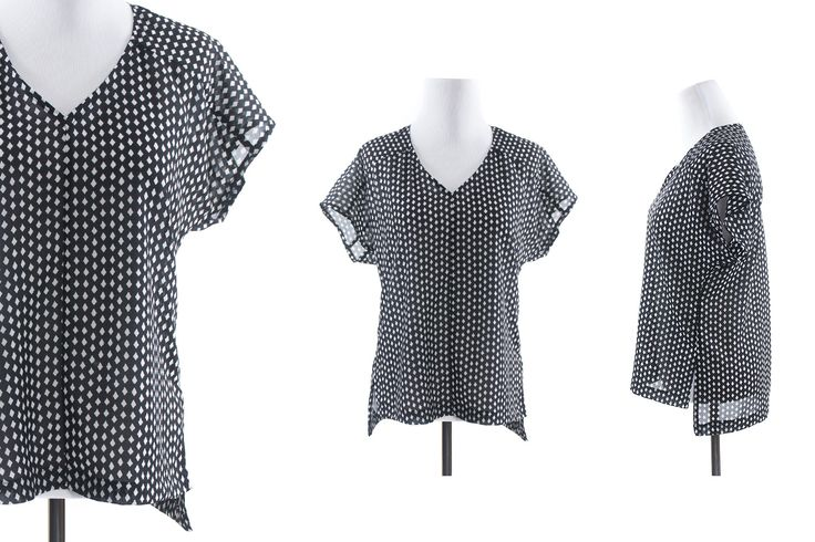 Sutton Blouse Sewing Pattern by True Bias