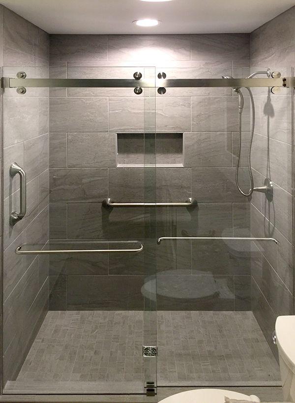 Cambridge Series Double Sliding Shower Sliding Glass Door Frameless Shower Enclosures Frameless Shower Doors