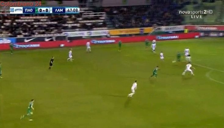 Anthony Mounier Goal HD - Panathinaikos 1-0 Lamia 24.02.2018