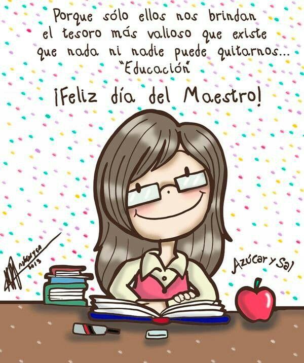 #feliz #Dia del #maestro :D