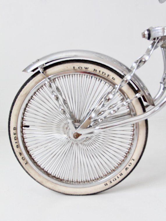Lowrider Bicycle Chain Steering Wheel GOLD Classic Cruiser Chopper Bike NEW