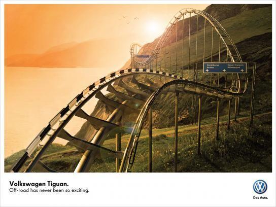 Volkswagen:  Roller Coaster