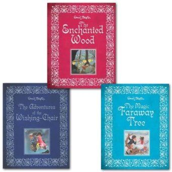 Enid Blyton's Magic Faraway Tree, Enchanted Wood & The Adventures of the wishing chair Collection 3 Full Colour Illustrated Gift Books Collection - prize idea