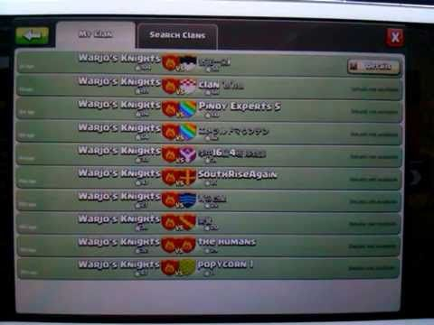 Clash of clans - 12 War Wins in a row!