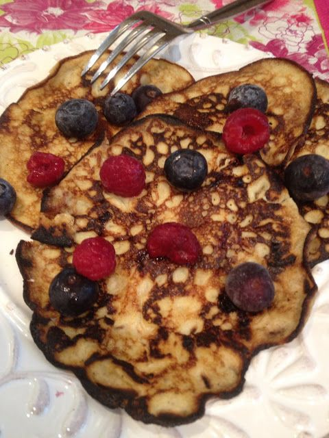 absolutely LOVE these gluten free pancakes! Fast, easy, healthy just 2 ingredients! Gluten Free A-Z Blog
