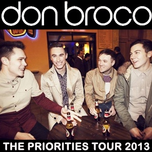 The hugely popular boys in Don Broco will be taking to the Concorde2 stage on Tuesday 16th April. They have gone from strength to strength since they first came into the limelight two years ago, so be sure to catch them at an intimate venue whilst you still can! Tickets are a steal at £10 + bf in adv from our website: https://www.concorde2.co.uk/bookTickets.php?pageName=Don+Broco+=2013-04-16