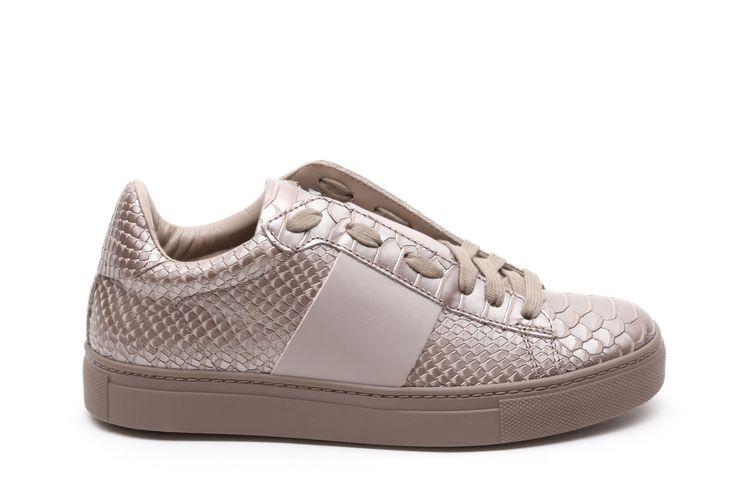 Stokton sneakers birman lame Marrone