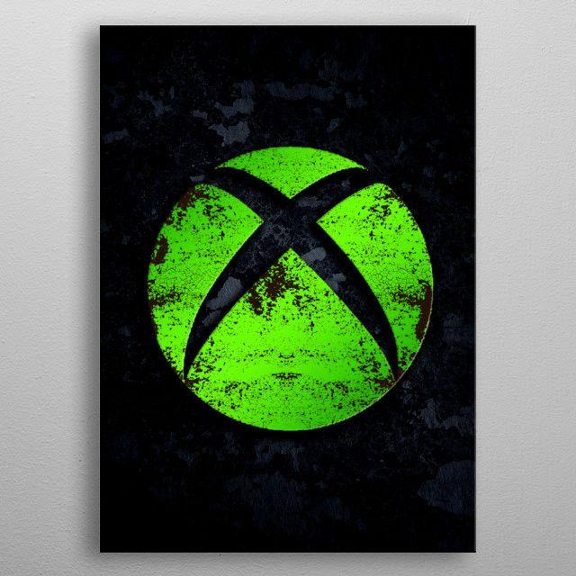 Xbox Fan Metal Poster Gamer Room Game Room Decor Gamer Room Decor