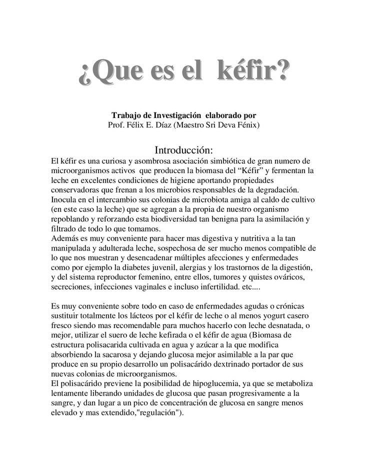 Que Es El Kefir Kefir Alimentos Fermentados Comidas Saludables Adelgazar