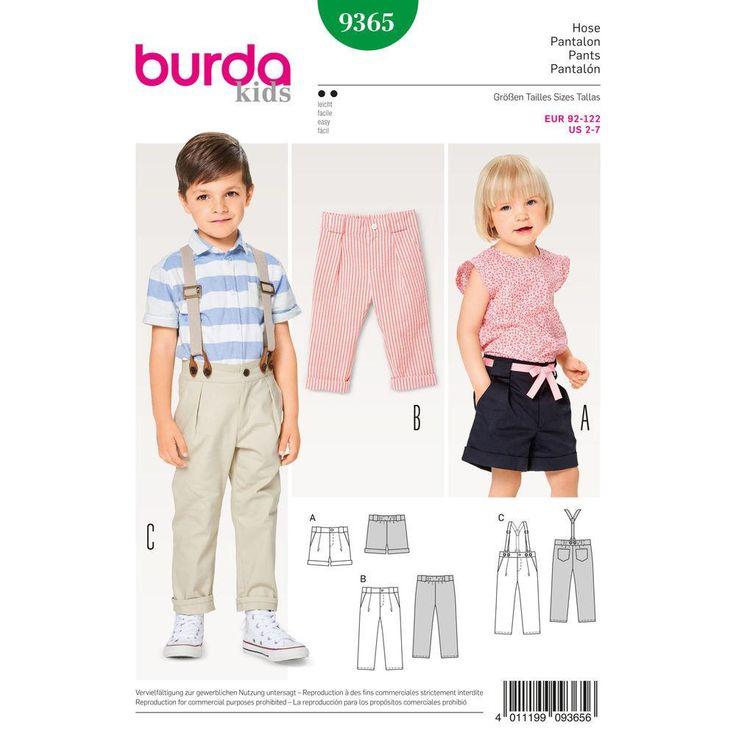 Burda - BD9364 Child Shirt & Elastic Skirt - WeaverDee.com Sewing & Crafts - 1