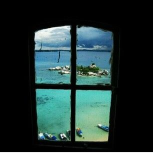 The fantastic view inside the third floor of the Lighthouse at Lengkuas Island, Belitoong, Indonesia. @getourguide cat cat (Getourguide.com) on Instagram. MAke your own itinerary at getourguide.com