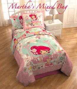 Vintage Strawberry Shortcake Bedding 91