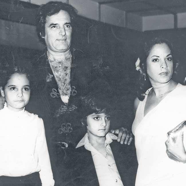 """Feroz Khan""""s Family"""
