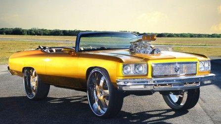 1975 Chevrolet Caprice #donk