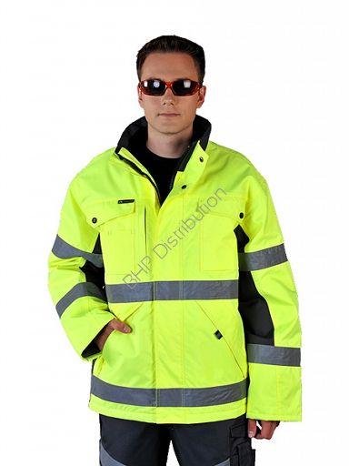 Zimowa kurtka ostrzegawcza LH-ROADER - INTERNETOWY SKLEP BHP - artykuły i sprzęt…