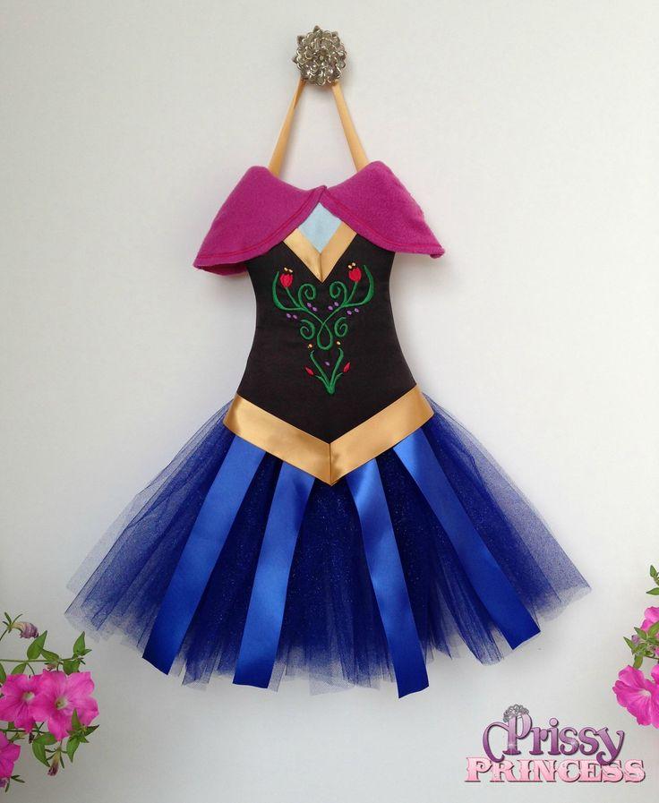 Anna tutu bow holder #frozen #disney
