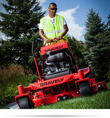 how to start a gravely zero turn lawn mower