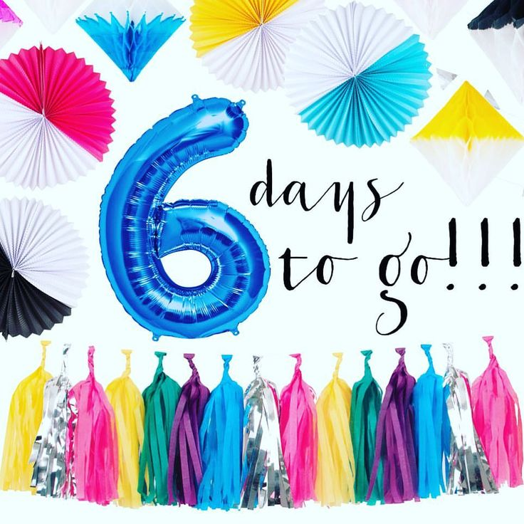 6 days to go to the launch of our online shop 6daystogo