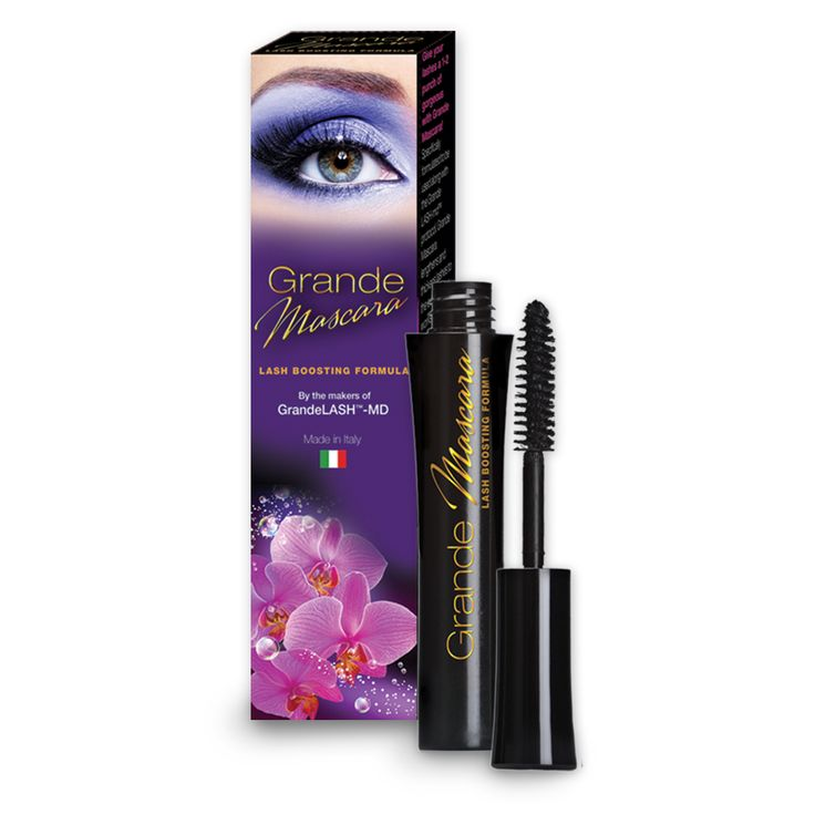 Grande Mascara Lash Boosting Formula provides instant extreme volume and length and healthier looking lashes. This exclusive formula includes special ingredient sympeptide 226EL to promote longer and thicker dramatic lashes.